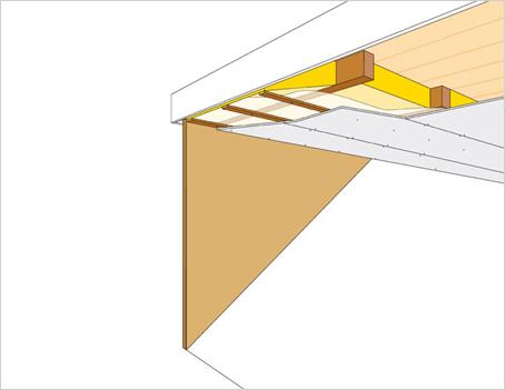 Isoleren dakkapel binnenzijde